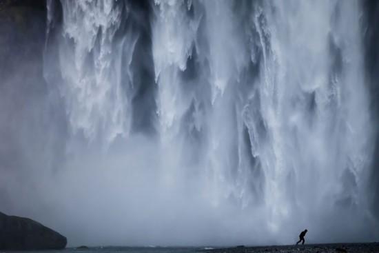 Contoh Foto Landscape Air Terjun Yang Keren
