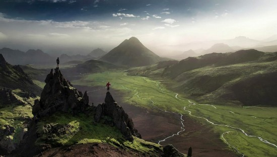 Contoh Foto Landscape Daerah Perbukitan