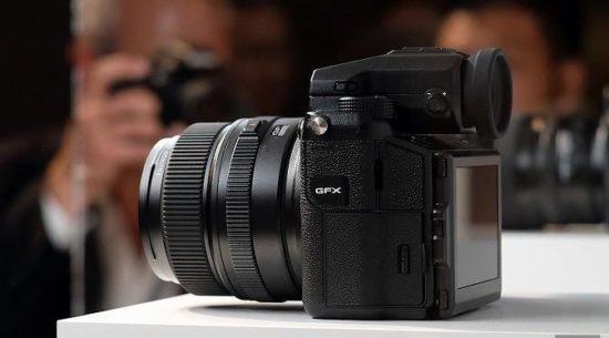Spesifikasi Fujifilm GFX 50S