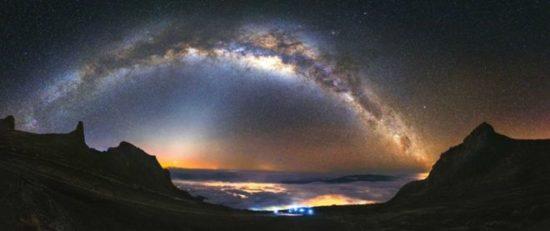 Cara Memotret Bima Sakti Di Pegunungan
