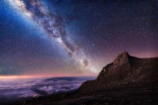 Foto Bima Sakti Di Gunung